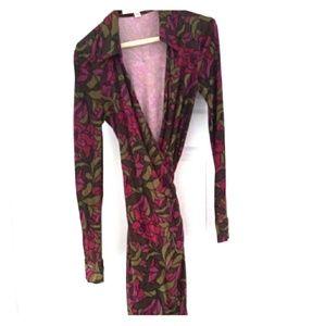 Diane Von Furstenberg DVF vintage wrap dress